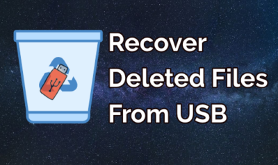 Recover Deleted Files usb