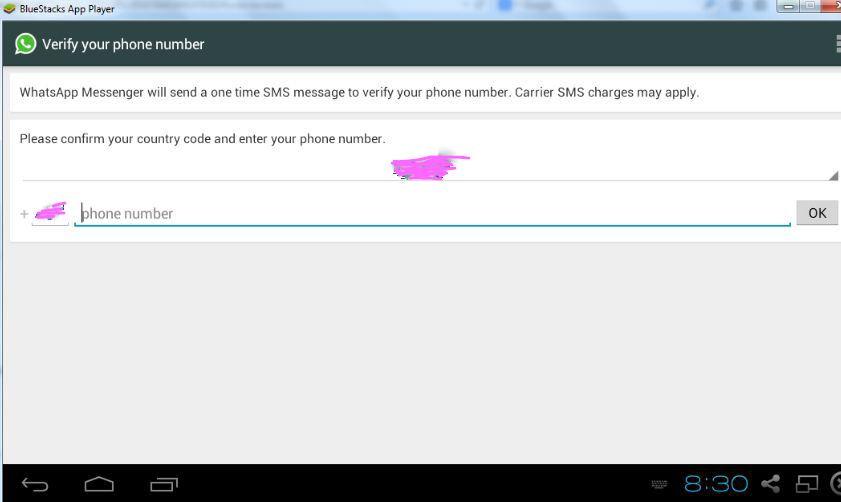 provide mobile number