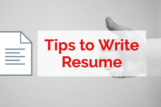 Tips To Write A Resume – Mistakes You Must Avoid