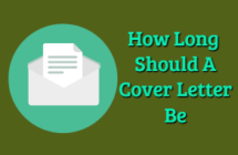 how-long-should-a-cover-letter-be