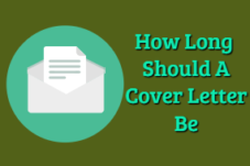 How Long Should A Cover Letter Be – How To Do A Cover Letter