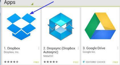 dropbox kapazität