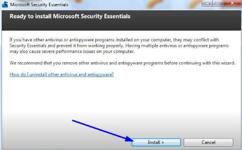 windows security essentials windows 8