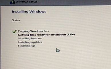 install windows 10 os