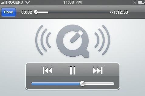quicktime for ipad