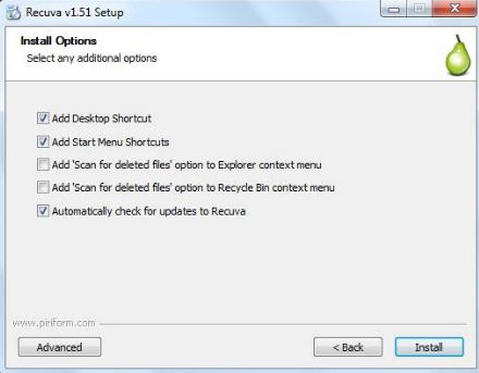 restore shift deleted files