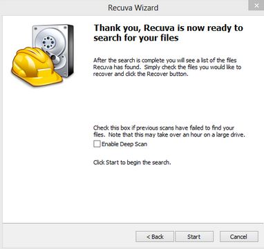 hard drive data recovery free
