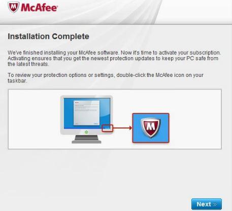 comment installer mcafee antivirus dans Windows 7 en utilisant cd