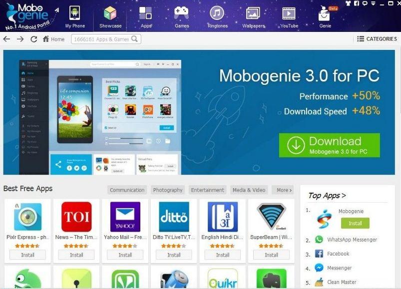 mobogenie windows laptop