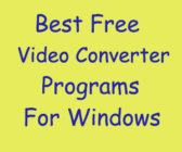 best video converter softwares for windows