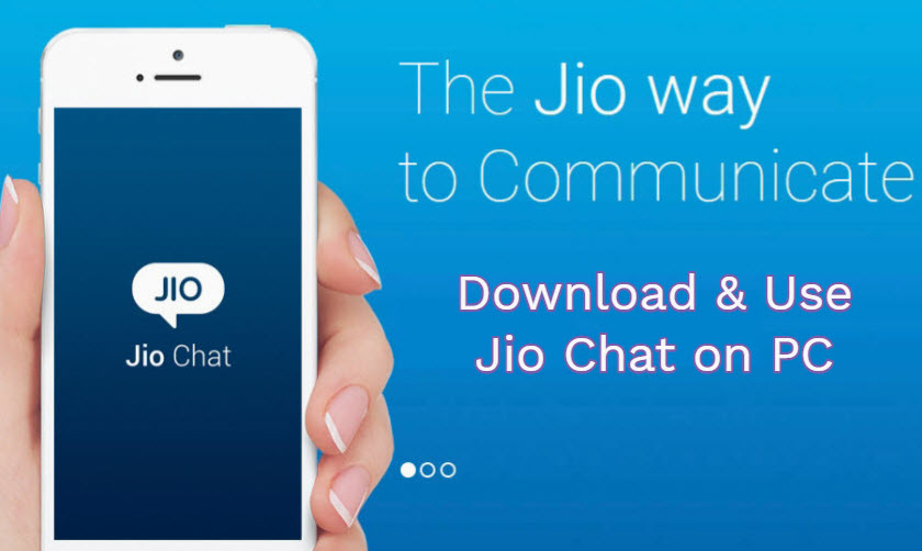 jio chat pc