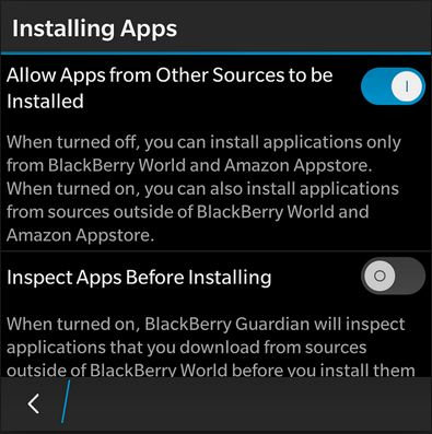 cortana for blackberry