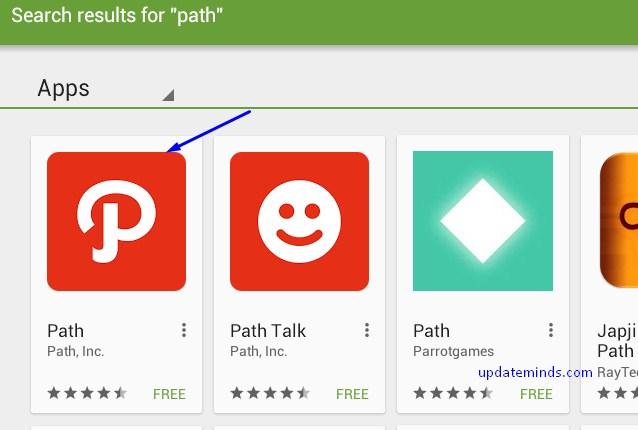 install path app