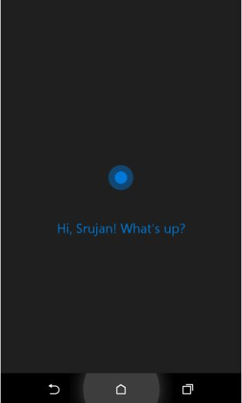 setting your nickname on cortana